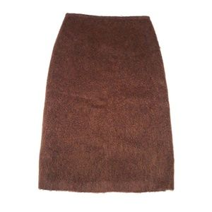 NWT French Connection 6 FUZZY Wool Pencil SKirt